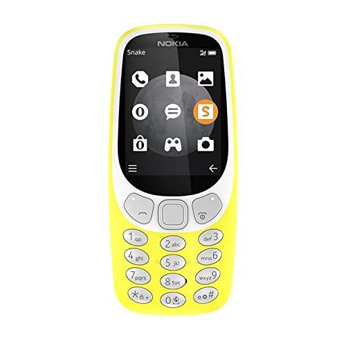 """Nokia 3310 6.1 cm (2.4"""") Yellow"""
