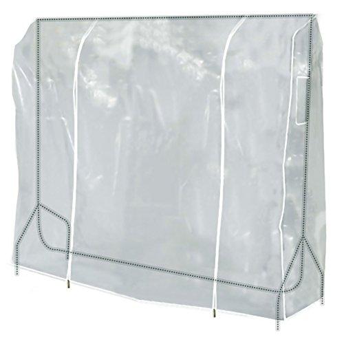 Transparente Abdeckung und Staubschutz für Kleiderständer, Kleiderstange ist seperat erhältlich - 150cm - Hangerworld