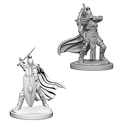 WizKids Pathfinder Deep Cuts Unpainted Minis: Female Knights/Gray Maidens