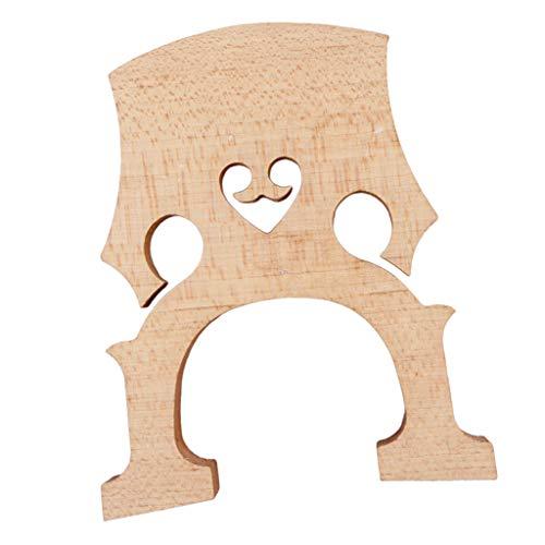 Gebraucht, FLAMEER 1 Stück Cello-Brücke Aus Ahornholz, für Cello gebraucht kaufen  Wird an jeden Ort in Deutschland