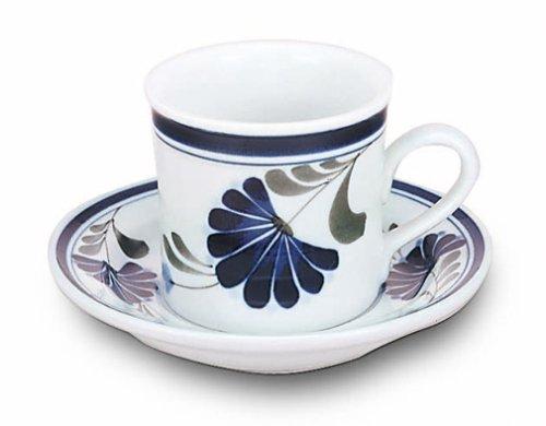 Song Salbei (DANSK Salbei Song Kaffee-Tasse und Untertasse 541 870 (Japan-Import))