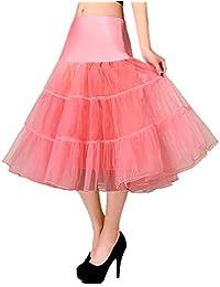 De la Mujer Classic elástico, de 2capas de tul tutú falda