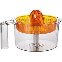 Bosch MUZ5ZP1 - Exprimidor para robots de cocina, color transparente y naranja