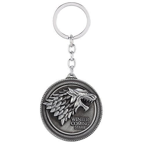 RainSound Game Of Thrones Winter Is Coming Metal keychain