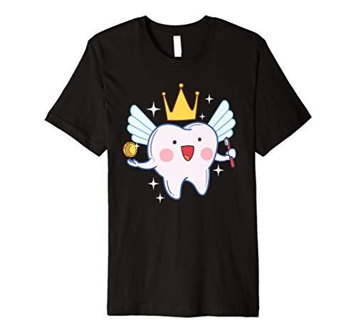 Kostüm Dental - Zahnfee T-Shirt Funny Magical Dental Kinder Geschenk Shirt
