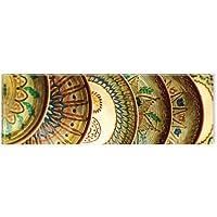 Startonight canvas Wall Art rumeno tradizionale ceramica, tradizionale, Nature Glow