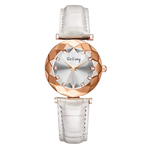 TWISFER Damen Armbanduhr Analog Quarz Wasserdicht Frauen Uhr Lady Watch Kreative Starlight Dial Watch Sky Star Armbanduhr mit Lederband