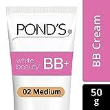Pond's White Beauty BB+ Fairness Cream 02 Medium, 50 g