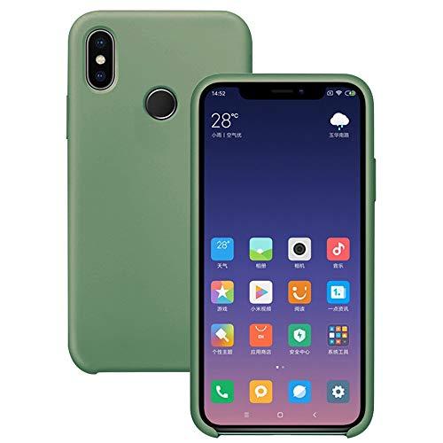 Pacyer Funda Compatible con Xiaomi Mi MAX 3, Ultra Suave TPU Gel de Silicona Case Protectora Suave Flexible teléfono Absorción de Impacto Elegante Carcasa Compatible Xiaomi Mi MAX 3 (Verde)