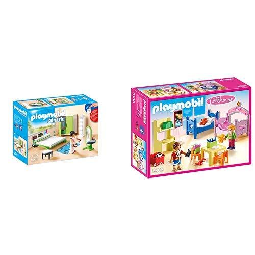 Playmobil 9271 - Schlafzimmer &  5306 - Buntes Kinderzimmer