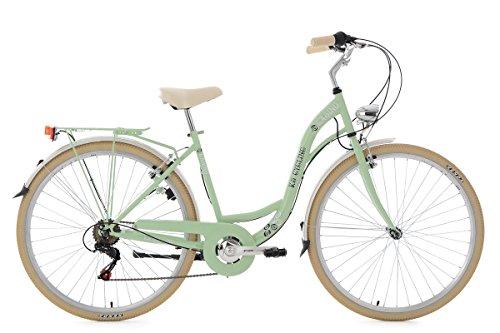 KS Cycling Damenfahrrad Cityrad 28'' Casino mintgrün 6Gänge RH48cm