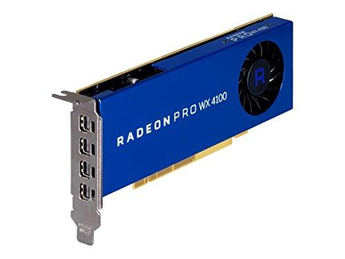 AMD Radeon Pro WX 4100 4GB GDDR5 - Tarjeta gráfica (4 GB, GDDR5, 128 bit, 5120 x 2880 Pixeles)