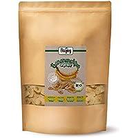 Chips de plátano BÍO | plátanos (65%) horneados en aceite de coco (35%) | cultivo biológico controlado | completamente no endulzado y sin azufre | calidad premium BÍO (1 kg)