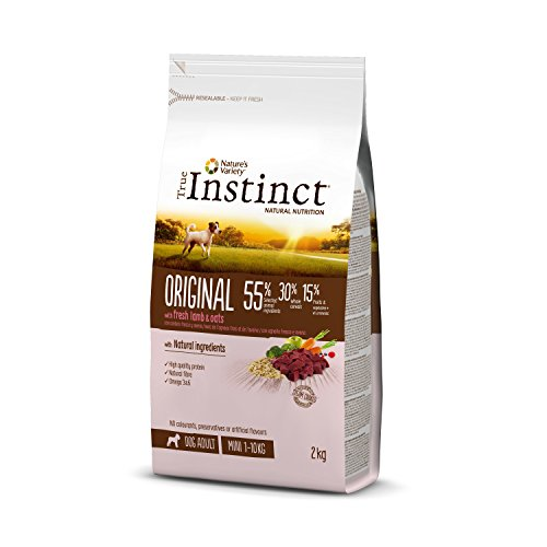 True Instinct Original Pienso para Perros Mini Adultos con Cordero - 2...