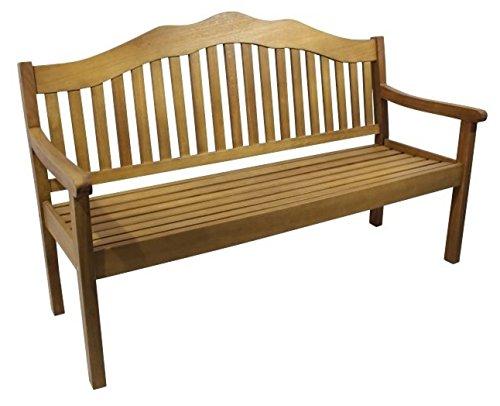 3 Sitzer Landhaus Gartenbank Charlie, aus Hochwertigem Akazienholz
