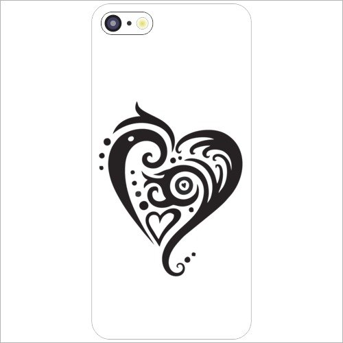 Printland Apple iPhone 5C - Lazer Print Love Dose Desiner Cases