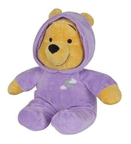 Simba 6315870962 - Disney Winnie The Puuh Plüsch Bär mit Schlummerlicht 28 - Stofftier Pooh
