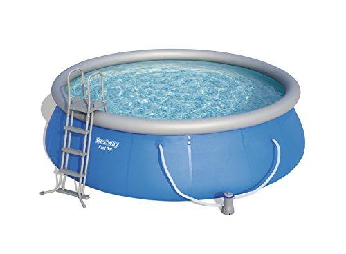 Bestway Fast Set Pool  Set mit Filterpumpe + Zubehör 457 x 122cm