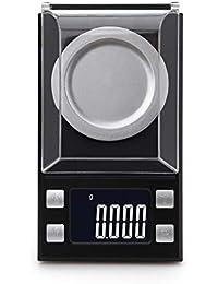 SKJDK Balanza Electronica De Joyas, Escala Digital Balanza De Cocina con Pantalla LCD para Alimentación