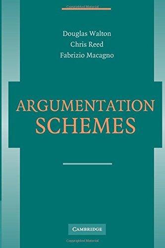 Argumentation Schemes by Douglas Walton (2008-10-16)