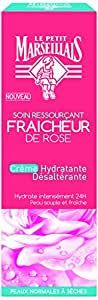 Le Petit Marseillais Crème Hydratante Désaltérante Fraicheur Rose Pot 50 - Lot de 2