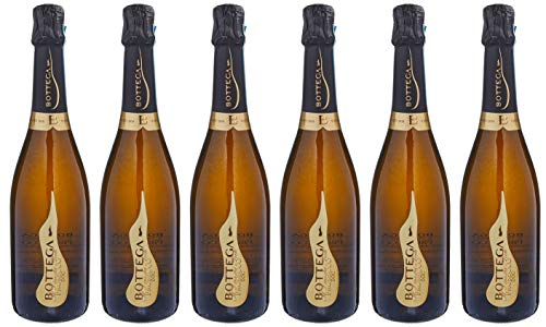 Bottega poeti prosecco doc spumante - 6 bottiglie da 750 ml