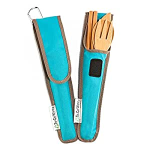 To-Go Ware Repeat Reusable Bamboo Utensil Set, Agave