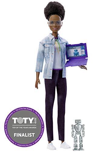 Barbie FRM10 - Robotik-Ingenieurin, mit Dutt -