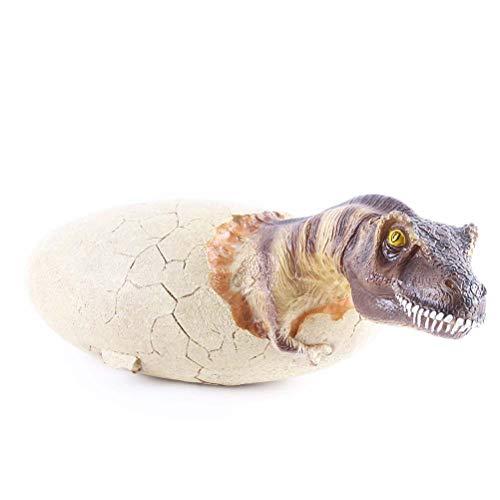 nosaurier Ei Handwerk Tier Schädel Harz Simulation Dinosaurier Ei Modell Dinosaurier Knochen Fossil Schraffur Ei Dinosaurier Dekoration ()