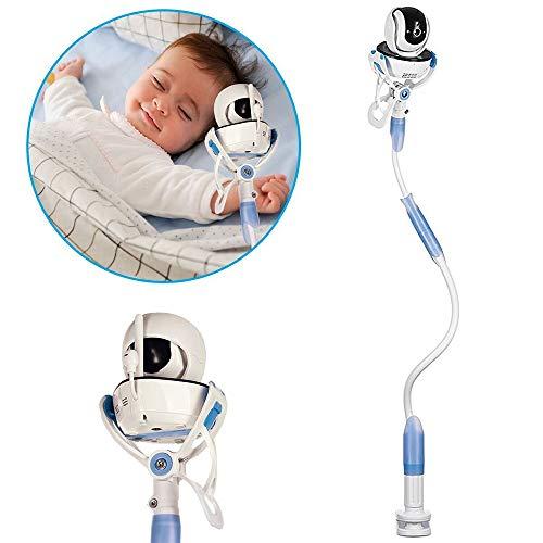 Hothuimin Soporte universal para monitor de bebé,soporte para cámara de bebé infantil, soporte y estante para monitor de video, soporte para cámara de bebé para guardería de cuna