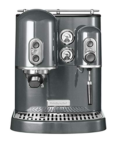KitchenAid 5KES2102EMS Artisan Espressomaschine-Medallion Silber