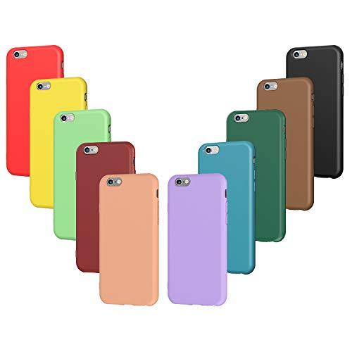 Característica: - Material premium: fabricada con material de silicona ultra delgado y ligero y flexible - Diseño elegante: color puro, estilo minimalista - 10 colores: Negro, Verde Oscuro, Verde Claro, Azul, Naranja, Rojo Vino, Rojo, Amarillo, Púrpu...