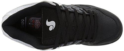 DVS Shoes Celsius, Low-Top Uomo Grau (Grey Black White)