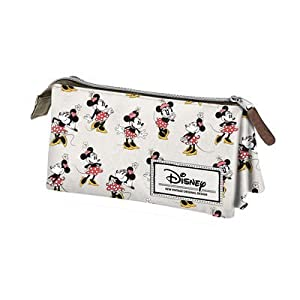 Karactermania Portatodo triple classic Ivory Minnie Disney