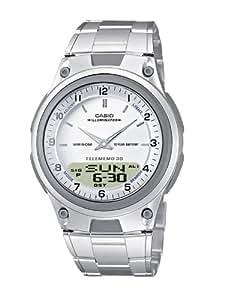 Casio Collection – Herren-Armbanduhr mit Analog/Digital-Display und Edelstahlarmband – AW-80D-7AVES