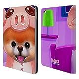 Head Case Designs Offizielle Boo-The World's Cutest Dog Onesies Charakter Kunst Brieftasche Handyhülle aus Leder für iPad Air 2 (2014)
