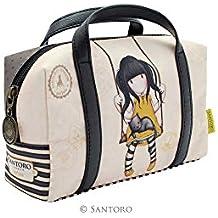 Gorjuss Ruby Yellow Suitcase Pencil Case