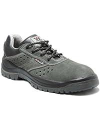4walk - Tanger s1+p - zapatos de seguridad - talla 36 - gris
