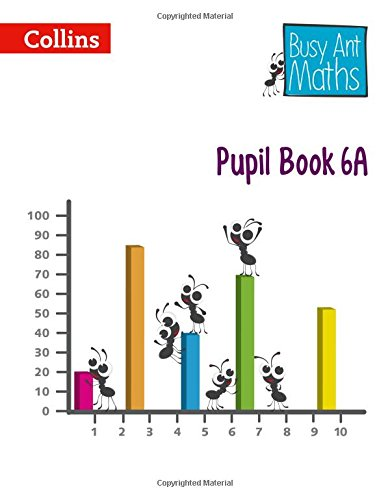 Busy Ant Maths European edition – Pupil Book 6A