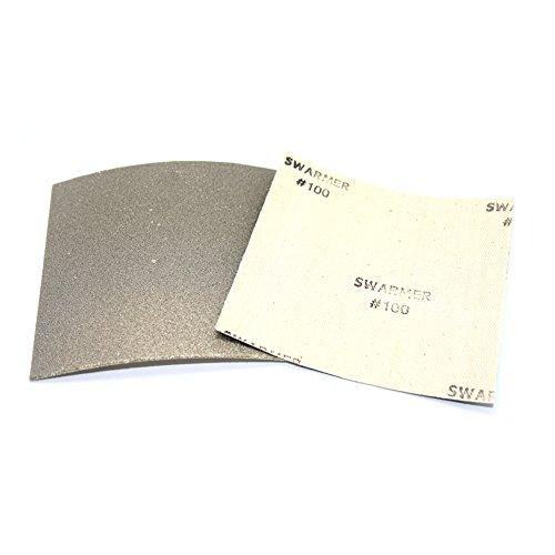 [Insung Diamant] Diamant Flexible Tabelle Schleifpapier alle Typ 100Körnung (100mm x 100mm)