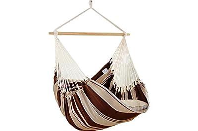 XXL Hängesessel Hängestuhl Beauty Sofa mocca wetterfest von Lola Hängematten auf Gartenmöbel von Du und Dein Garten