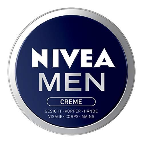 NIVEA Men Creme, Hautcreme für Gesicht, Körper und Hände, pflegende Feuchtigkeitscreme mit frisch-maskulinem Duft, im 1er Pack (1 x 150 ml)