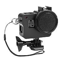 Rhodesy Gopro HERO 2018 Hero 6 Hero 5 Aluminum Alloy Protective Case with 52mm UV Lens Filter and Cap, Housing Frame Case for GoPro HERO 2018 Hero 6 Hero 5 Camera