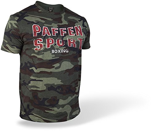 Paffen Sport VINTAGE LOGO CAMOUFLAGE T-Shirt; camouflage; GR: S (Baumwolle Vintage-sport-shirt)