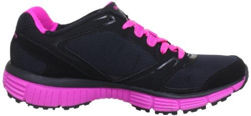 Skechers AgilityRewind 11696, Sneaker donna Nero (Schwarz (BKHP))