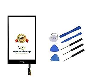 HTC ONE Mini 2 / M8 Mini / M5 Touchscreen Display Glas Digitizer Lens Scheibe Schwarz + Werkzeugset