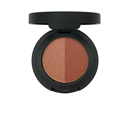 Luckhome Farben Schimmer Matt Mineral Pigment Lidschatten Palette Nude Beauty Make up Glitter 12...