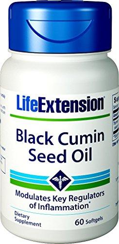Negro semillas de comino aceite