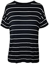 c053899b103 Marks and Spencer Marks & Spencer M&S Relaxed FIT Nautical Navy & White  Striped T-