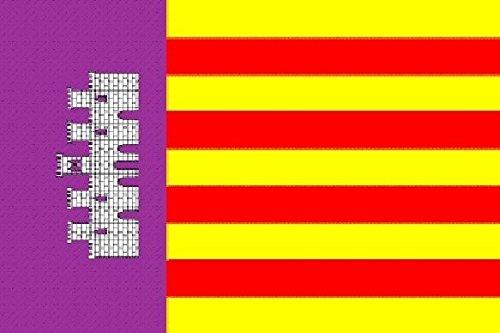 U24 Fahne Flagge Mallorca Bootsflagge Premiumqualität 20 x 30 cm